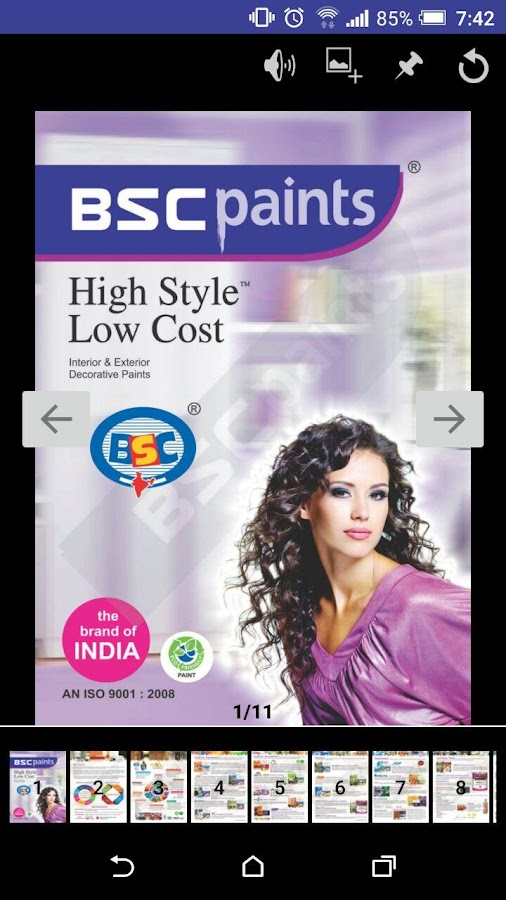 BSC Paints Catalogue- screenshot