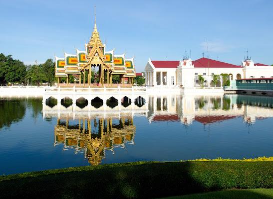 Specchi d'acqua a bangkok di Fabien