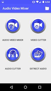Audio Video Mixer Video Cutter video to mp3 app apk download 2