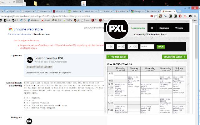 Lessenrooster PXL