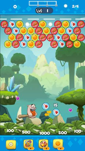 Bubble Shooter : Caveman World