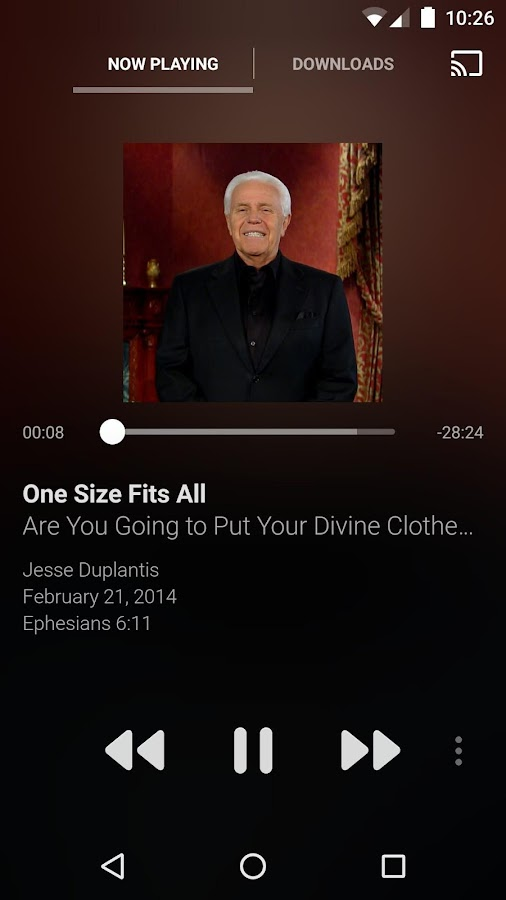 Jesse Duplantis Ministries- screenshot