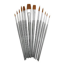 Tonic Studios Nuvo Paint Brush Set  12/Pkg 972N