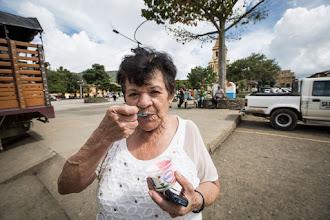 Photo: El sabor de Tonny en el parque de Urrao
