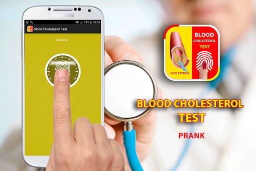 Blood Cholesterol Test Prank