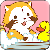 Cute Wallpaper Bathtime RASCAL