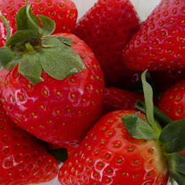 Strawberries from Spain by Helena Moravusova - Food & Drink Fruits & Vegetables ( strawberry )