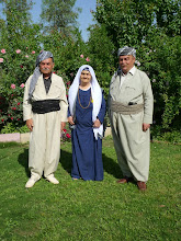 Photo: Mother with sons, Rashkin village, Iraqi Kurdistan, 2011