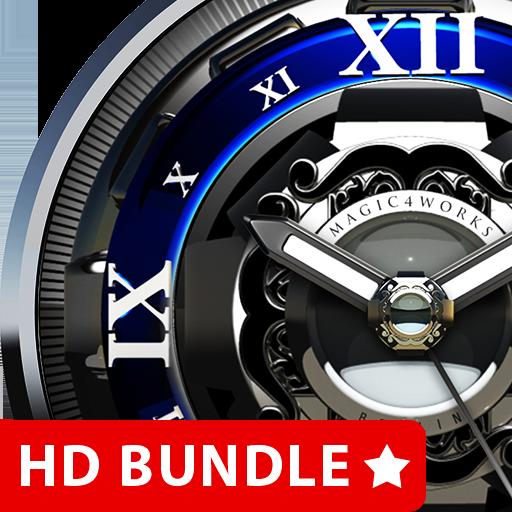 HD Analog Clock Bundle LWP 4