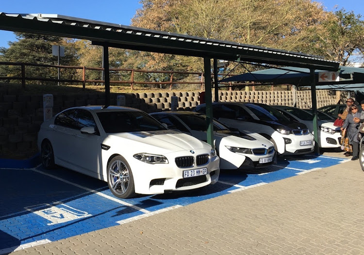 An electric BMW M5?   Picture: PROOF MEDIA