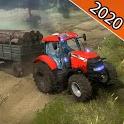 Offroad Tractor Farming Simulator 3D 2020 icon