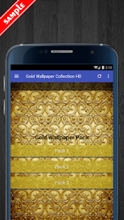 Gold Wallpapers HD Collection - náhled