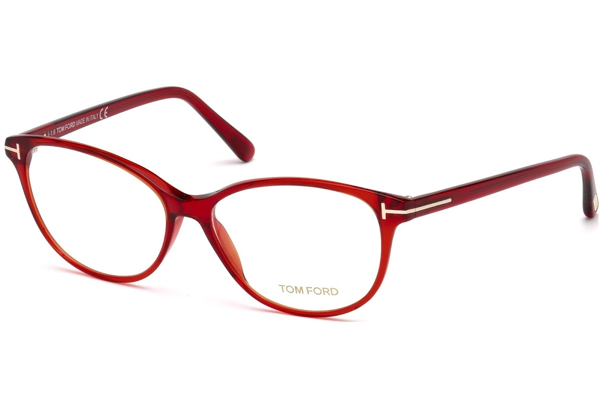 Acheter Montures Optiques Tom Ford FT5421 C53 066 (shiny red   )    opti.fashion b6014bde5eee