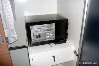 Photo: 電子式金庫です。