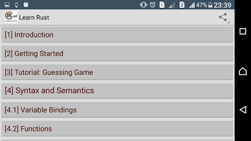 Learn Rust Programming Pro screenshot 3