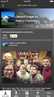 Calvary Chapel Salem- screenshot thumbnail