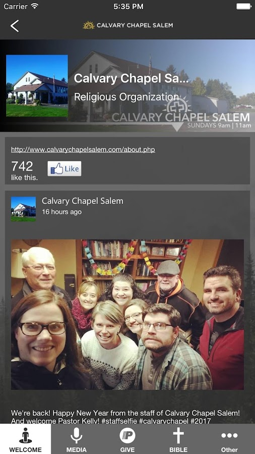 Calvary Chapel Salem- screenshot
