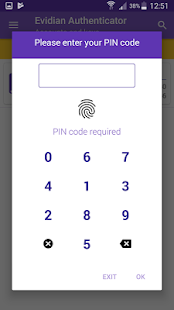 Evidian Authenticator (Unreleased) - náhled