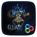 Blaze GO Launcher Theme