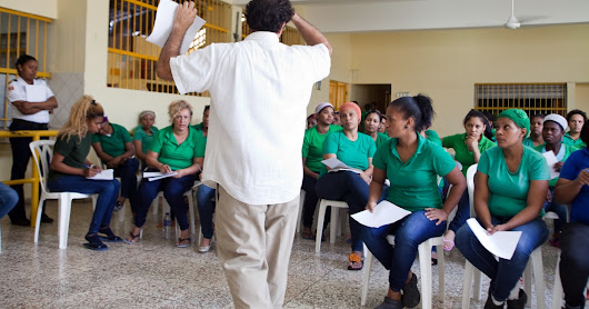 Civil Dialogue and Social Entrepreneurship Workshop in Prison