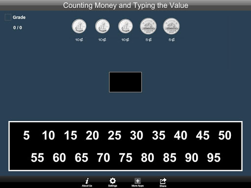Canadian Counting Money and Typing the Value Lite 1.1 screenshots 3