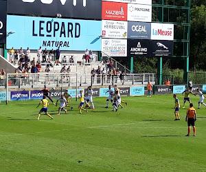Le seul but de la rencontre a été inscrit par Couturier lors des arrêts de jeu de la première mi-temps. Le milieu de terrain était à la réception d'un coup franc de Lecomte.