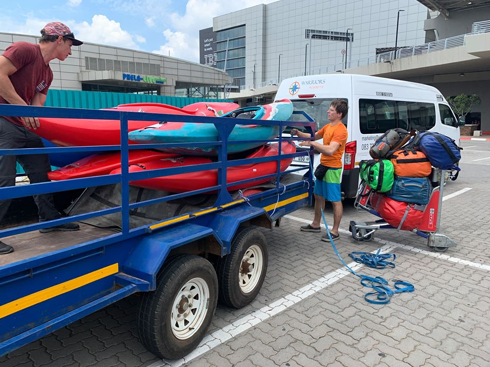 Kayaks and trailer stolen from Russian tourists found dumped in Tsolo - SowetanLIVE