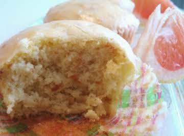 Chai Tea Creme Grapefruit Cupcakes