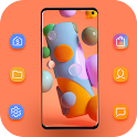 Galaxy A11 launcher And Themes icon