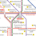 Berlin Subway Map (U Bahn etc)