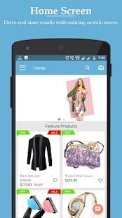 Nautica PrestaShop Mobile App - náhled