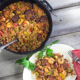 Deer Sausage and Shrimp Jambalaya Recipe