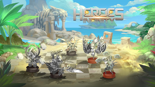 Télécharger Heroes Infinity: RPG + Auto Chess + God + strategy  APK MOD (Astuce) screenshots 3