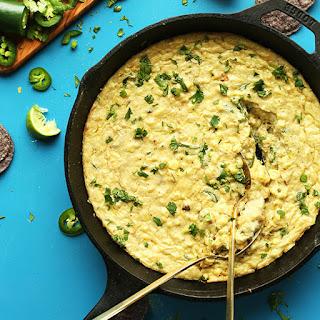 Cheesy Jalapeño Corn Dip.
