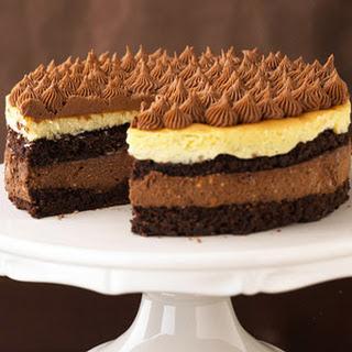 Bittersweet Cheesecake Torte