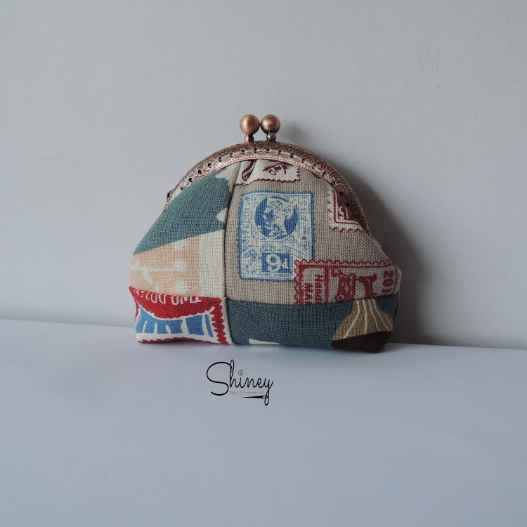 Handmade Frame Coin Purse by Shiney Craft & Zakka 诗绫手作