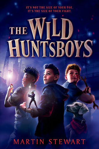 Review of the Day: The Wild Huntsboys by Martin Stewart