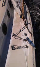 Photo: remnants of starboard standing rigging
