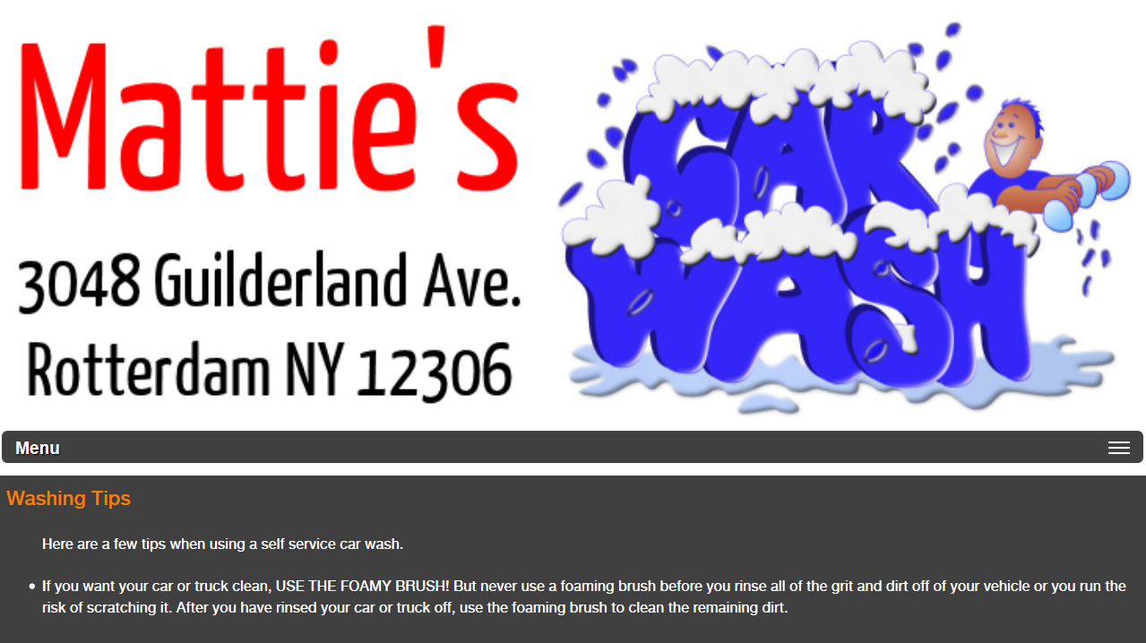 Mattie's Car Wash- screenshot