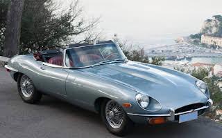 Jaguar Type E Roadster Rent Provence-Alpes-Côte d'Azur