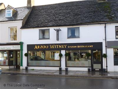 Arzoo Witney On High Street Restaurant Indian In Town