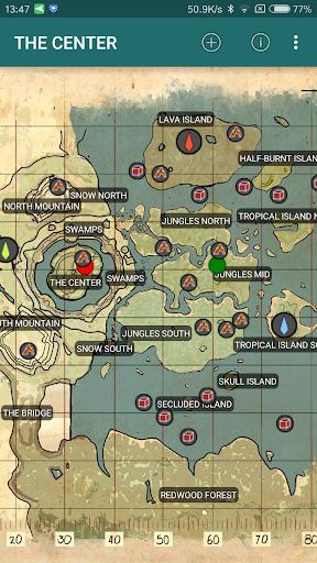 DinoTools: ARK Survival Map ss2