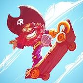 Skating Pirate