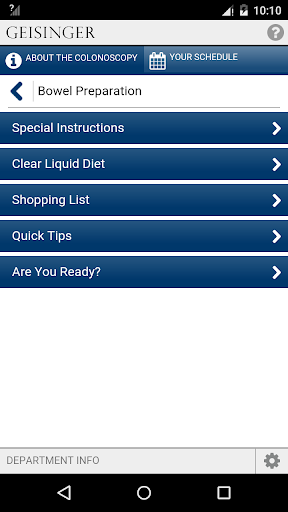 Download Easy Prep: Colonoscopy Google Play softwares