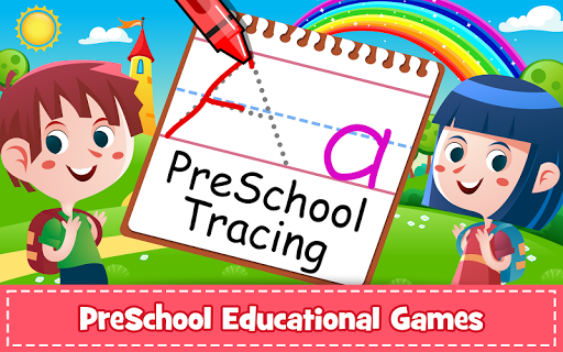 ABC PreSchool Kids Tracing & Phonics Learning Game filehippodl screenshot 1