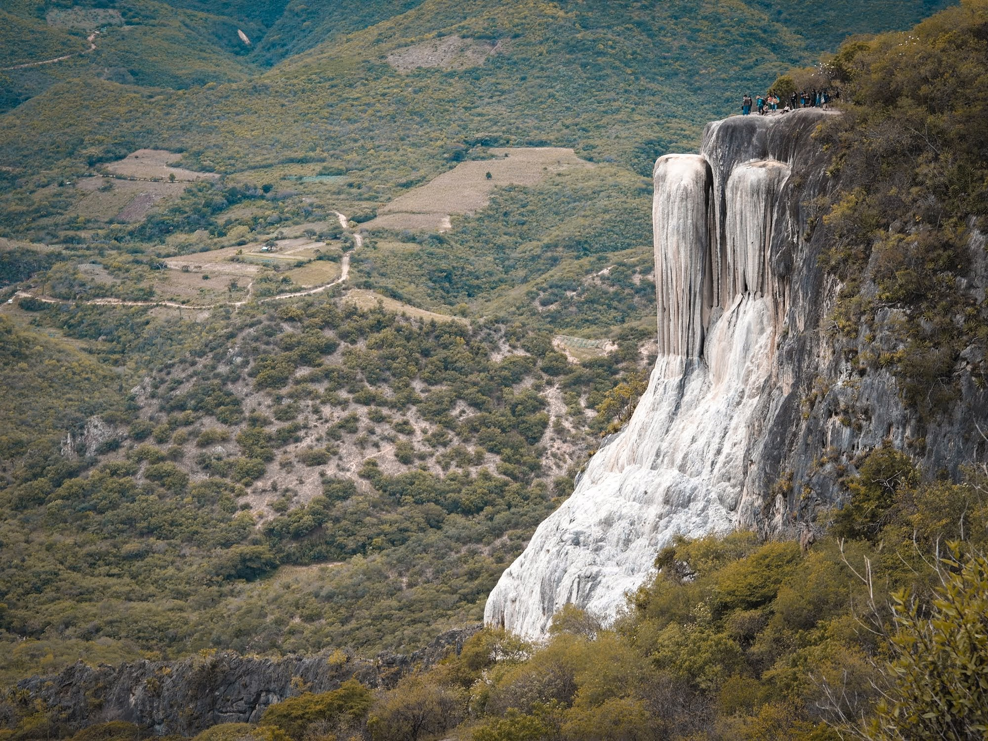 Hierve del Agua, a great daytrip from Oaxaca