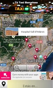 TúTaxi Barcelona screenshot 2