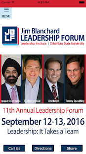Jim Blanchard Leadership Forum- screenshot thumbnail