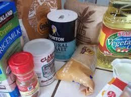 Combine flour,cornstarch, baking powder, salt, and allspice in a small bowl,
