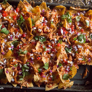 Butter Chicken Nachos.